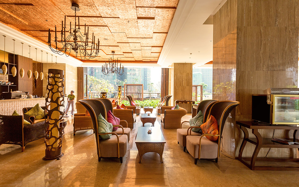 Interior Design of Hotel Lobby